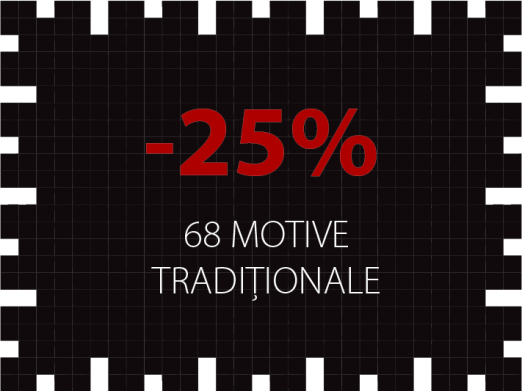 Motive traditionale - reduceri 25%